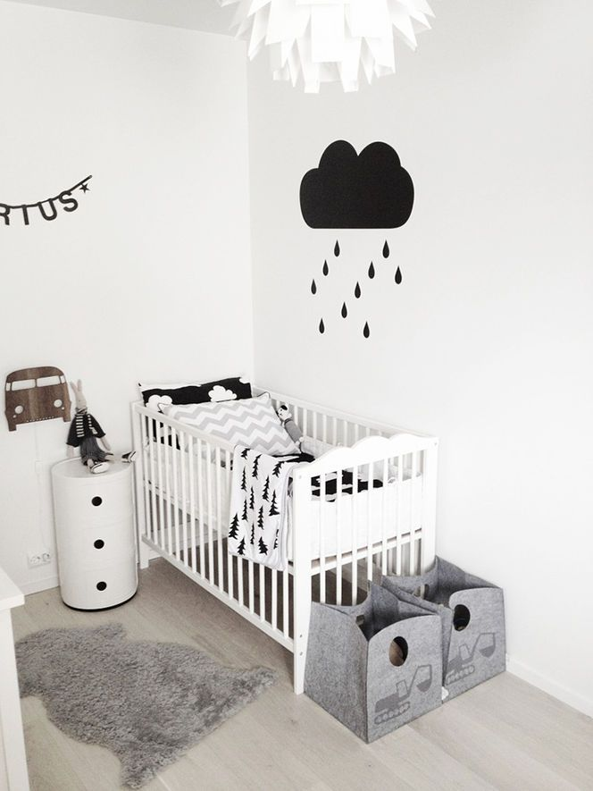 10 chambres b b de style scandinave pour s inspirervetabebe. Black Bedroom Furniture Sets. Home Design Ideas