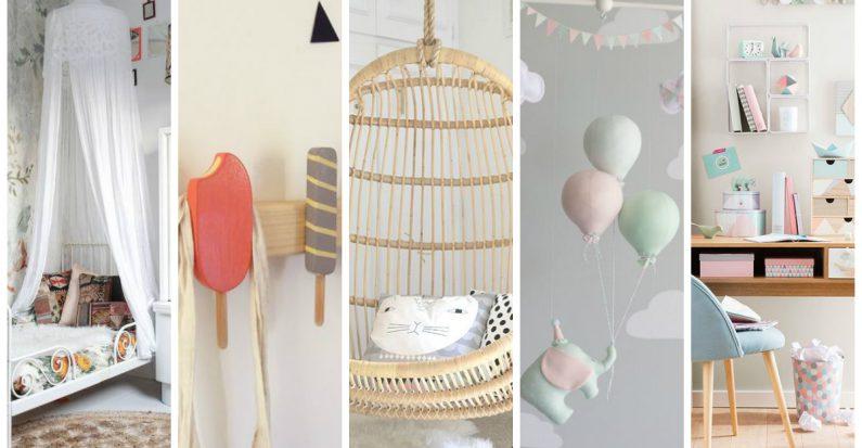 10 sublimes idées déco pour une chambre d\'enfant - VetabebeVetabebe